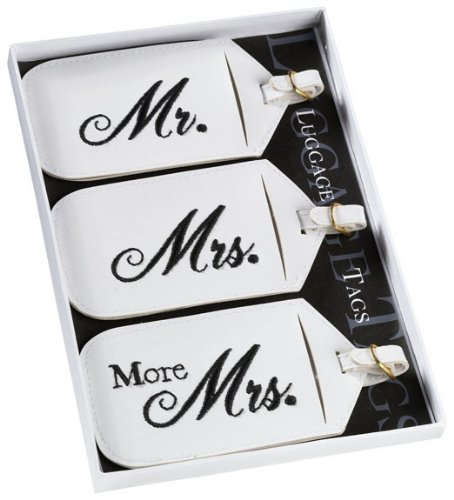 Set/3 Mr&Mrs Luggage Tags