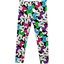 "Disney Minnie Mouse ""Bows All Over"" Girls Kids Legging (6)"