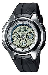 Casio Collection Herren-Armbanduhr Analog / Digital Quarz AQ-163W-7B1VEF