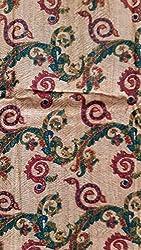 Tussar printed multipurpose fabric dress material