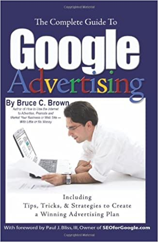 Image of google advertising book on amazon