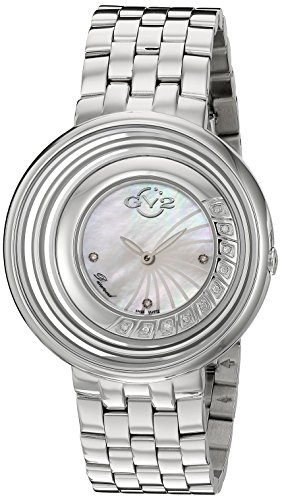 GV2-by-Gevril-Womens-1600-Vittorio-Swiss-Quartz-Stainless-Steel-Casual-Watch