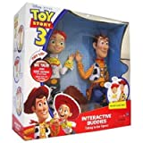 DISNEY PIXAR TOY STORY 3 INTERACTIVE BUDDIES TALKING ACTION FIGURES WOODY AND JESSIE