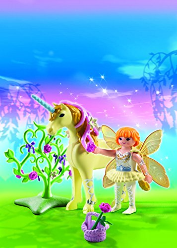Playmobil-5442-Figurine-Fe-Jardinire-Avec-Licorne-Fleur