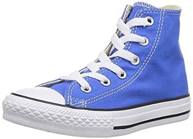 Converse Chuck Taylor All Star Hi, Baskets mode mixte enfant - Bleu, 20 EU