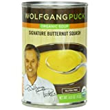 Wolfgang Puck Organic Signature Butternut Squash Soup, 14.5 Ounce Cans (Pack of 12) ~ Wolfgang Puck