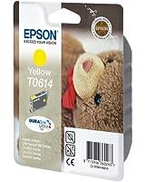 Epson T0614 Cartouche d'encre d'origine DURABrite Ultra jaune pour D68 D88 D88PE DX3850 4250 4850