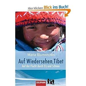 eBook Cover für  Auf Wiedersehen Tibet Auf der Flucht durch Eis und Schnee