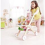 Hape - Babydoll Stroller - Happy Doll Furniture