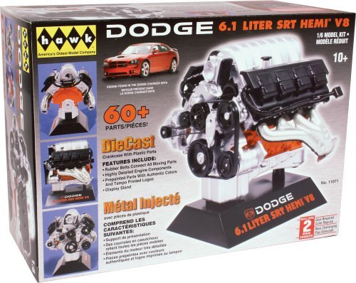 Detailed Repica - Hawk 1/6 scale Dodge SRT-8 diecast engine kit