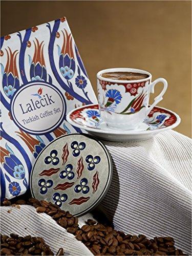 Motif tulipe de café turc