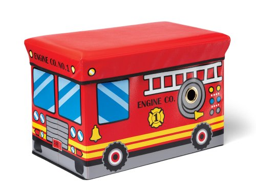 Toy Chests for Toddlers Fire Engine Toy Box