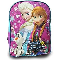 NEW Disney Frozen Anna and Elsa Backpack School Bag