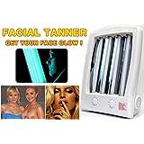 Reneetan NEW Facial Tanning Sun Solarium Lamp 110v Uv Goggles Face Tanner Love Bronzer Skin Enjoy an Eye-catching Sun Tan All Year Round New Year Present