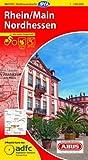 ADFC-Radtourenkarte 16 Rhein/Main Nordhessen 1:150.000, reiß- und wetterfest, GPS-Tracks Download und Online-Begleitheft