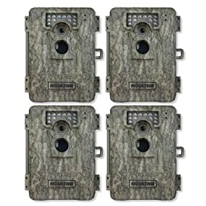 Buy (4) MOULTRIE Game Spy A-8 Low Glow Infrared Trail Hunting Cameras - 8 MP by Moultrie