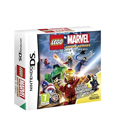LEGO Marvel Super Heroes: Universe in Peril  - Iron Patriot Minifigure Limited Edition (Nintendo DS)