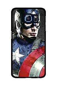 Caseque Captain America Dek Back Shell Case Cover For Samsung Galaxy S6