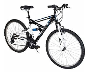 Huffy 26 Rock Creek Dual Suspension Mountain Bike, Black by Huffy