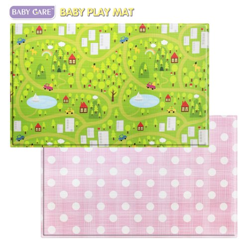 Baby care play mat large countrytown pink b00fn74a24 for Baby care play mat letters numbers grey large