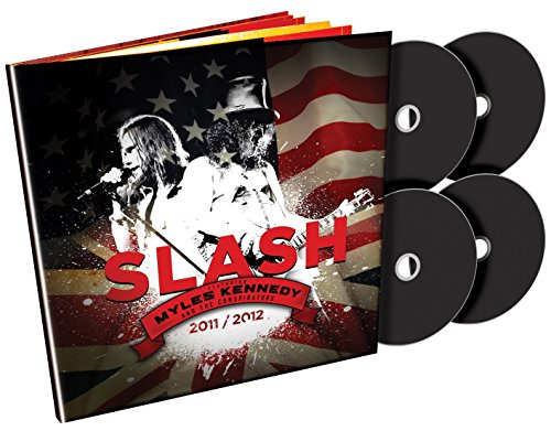 Slash featuring Myles Kennedy & The Conspirators [Book + 2DVD + 2CD]