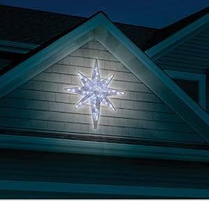 Amazon.com : CHRISTMAS 4' LED LIGHTED STAR OF BETHLEHEM ...
