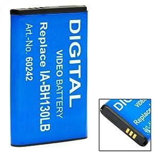 Batterie pour Samsung SMX-C20 SMX-C 20 SMX-C IA-BH130LB IA-BH 130LB IA-BH130 LB IA