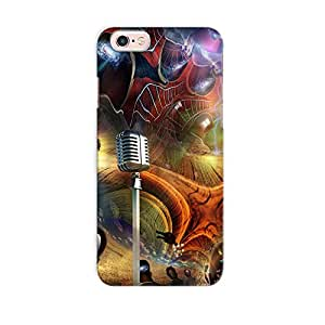 ArtzFolio Multiple Elements Combine In The Fantasy : Apple iPhone 6S Matte Polycarbonate Original Branded Mobile Cell Phone Designer Hard Shockproof Protective Back Case Cover Protector