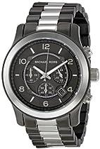 Michael Kors Runway Chronograph Two-tone Mens Watch MK8182