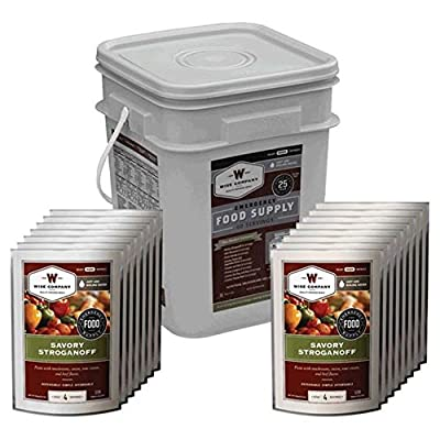 Wise Foods Wise Emergency Food Kit 695020 - 60 Servings