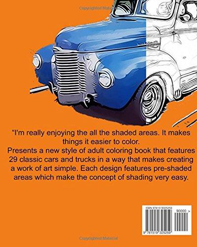 Vintage Cars Adult Coloring book: Car Coloring Book, Design Coloring (Volume 2)