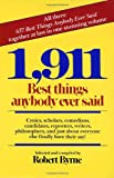 1,911 Best Things Anybody Ever Said (0449902854) by Byrne, Robert
