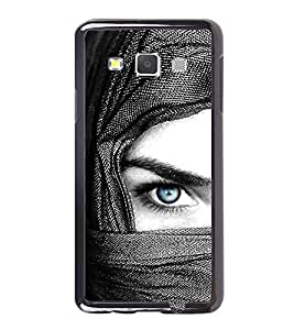 Vizagbeats Blue Eye Lady Back Case Cover for SAMSUNG GALAXY A5