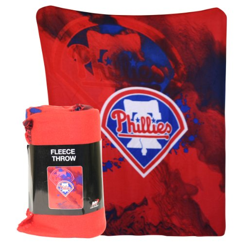 MLB Lightweight Fleece Blanket - Philadelphia Phillies at Amazon.com
