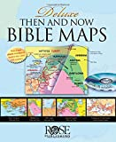img - for Deluxe Then and Now Bible Map Book with CD-ROM book / textbook / text book