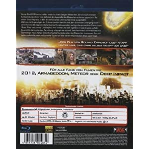 2012 Armageddon [Blu-ray] [Import allemand]