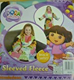 Dora The Explorer KIDS/CHILDRENS SOFT Sleeved FLEECE THROW BLANKET Wrap NEW