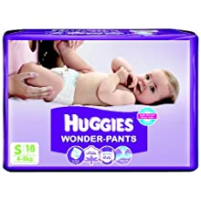 Huggies Wonder Pants Small Size Diapers (18 Count)