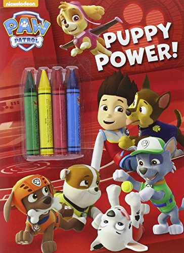 Puppy Power! (Paw Patrol) (Color Plus Chunky Crayons) PDF