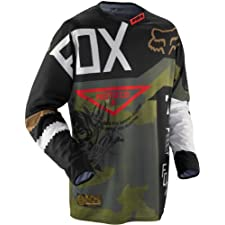 Fox 360 Machina grey/black (Size: M) Downhill Jersey
