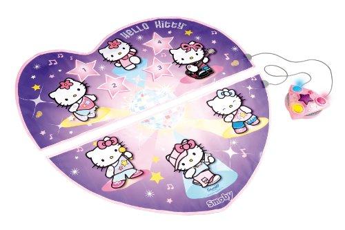 Smoby 27247 Hello Kitty - Alfombra de baile (104 cm de diámetro)
