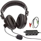 Crown Muti-Format Wired Gaming Headset (PC/PS3/Xbox360)