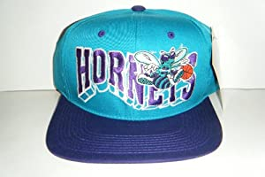 Charlotte Hornets Vintage Snapback New Authentic Hat with Tags Very Rare by The G Cap