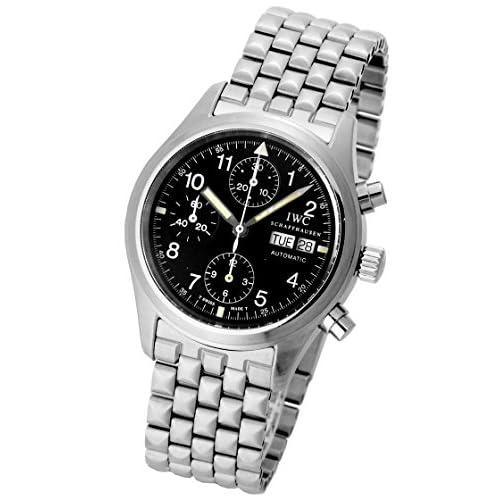 [アイダブリューシー] IWC 腕時計 メカニカルフリーガークロノグラフ IW370607 SS メンズ [中古品]