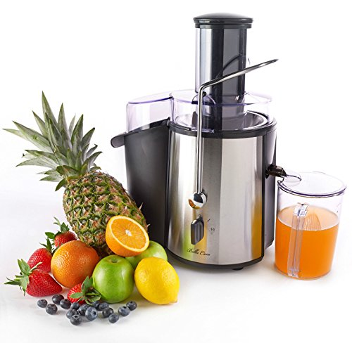 New Chrome Electric Power Juicer Fruit Vegetable Citrus Orange Lemon Extractor