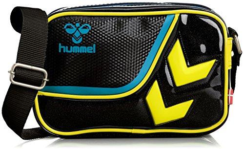 [ヒュンメル] hummel ショルダーバッグXS HFB3110 9030 (ブラック×イエロー)
