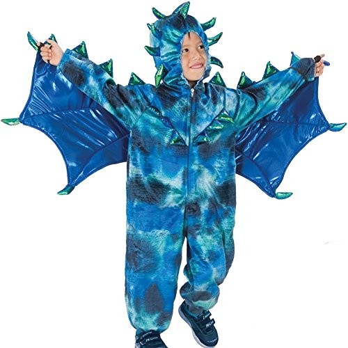 Blue Sully the Dragon Halloween Costume Jumpsuit Boys 12-18M