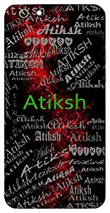 Atiksh (Wise) Name & Sign Printed All over customize & Personalized!! Protective back cover for your Smart Phone : Samsung Galaxy A-3