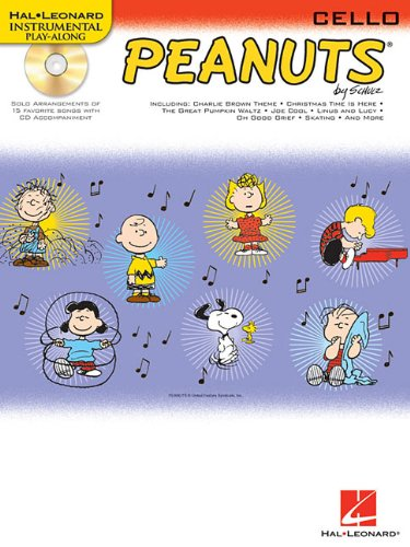 Peanuts(TM): for Cello (Instrumental Play-Along) PDF