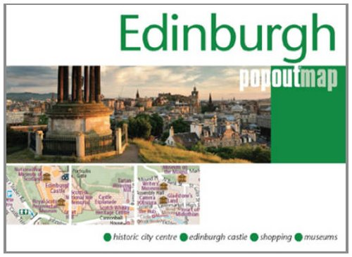Edinburgh PopOut Map (Popout Maps)
